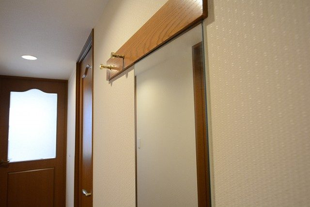 高田馬場パークハウス弐番館 玄関