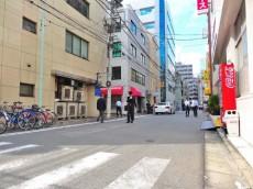 日本橋センチュリー21 前面道路