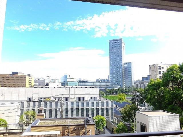 市谷逢坂ハウス 10.3帖ベッドルームの眺望