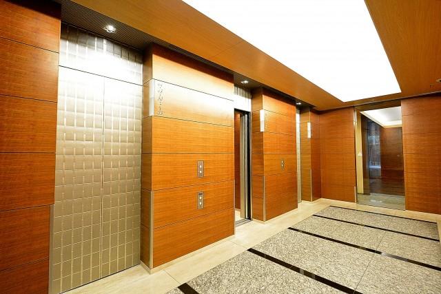 赤坂タワーレジデンス エレベーターホール