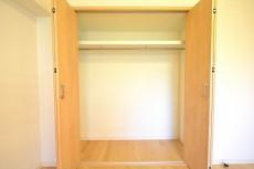 フジタ関口マンション 6.1帖のベッドルーム収納