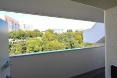 フジタ関口マンション 玄関からの景色