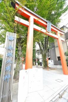 赤城神社・パークコート神楽坂 赤城神社