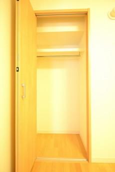 フジタ関口マンション 5.0帖ベッドルームの収納