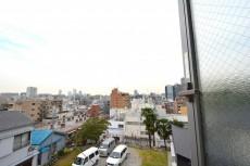 赤城神社・パークコート神楽坂 4.5帖のベッドルーム眺望