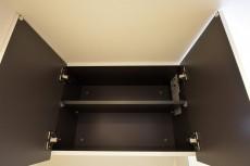 青葉台ハイツ ランドリースペースの吊戸棚