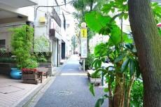 青葉台ハイツ 前面道路