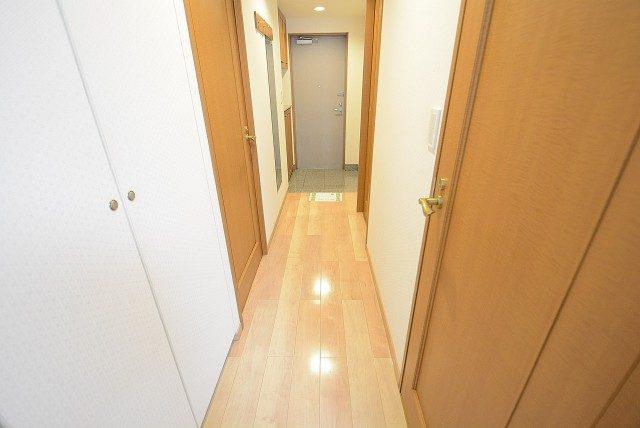 高田馬場パークハウス弐番館 廊下