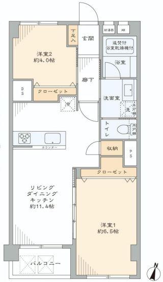 第2桜新町ヒミコマンション 間取り図