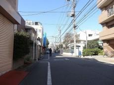 マイキャッスル蒲田 前面道路
