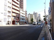 オリエンタル新大塚コーポラス 前面道路