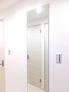 藤和ハイタウン上野 廊下の鏡
