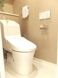 クレド茗荷谷 ウォシュレット機能付きトイレ