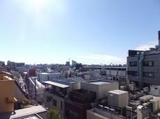 セザール学芸大学 共用廊下からの眺望