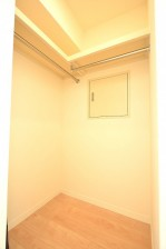 朝日プラザ北新宿 6.3帖のベッドルーム WIC