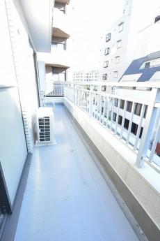 朝日プラザ北新宿 6.3帖のベッドルーム バルコニー