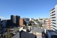 マンション高輪苑 洋室からの眺望