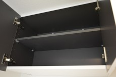宮園コーポ 洗濯機置場上の棚