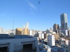 月島福寿マンション 玄関前眺望
