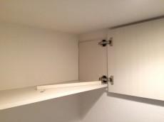 パレス三條 トイレ収納