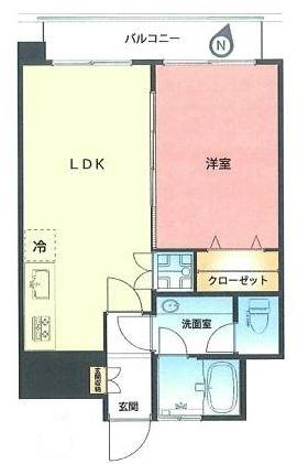 ハイツサト赤坂 間取図