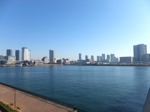 ソフトタウン晴海 晴海大橋からの眺望