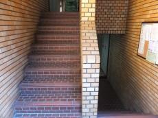 自由が丘タウンハウス 共用階段
