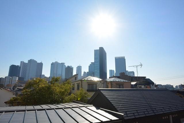 サンハイツ北新宿 新宿の高層ビル群