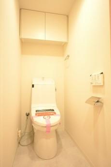 カーサ第2蒲田 ウォシュレット付きトイレ