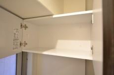 ドルメン五反田 トイレの吊戸棚