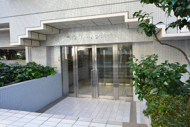 東池袋ハイツ弐番館 エントランス