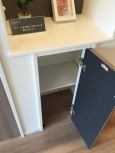 桜上水山森マンション リビングダイニングキッチンカウンター