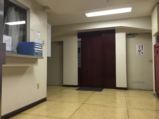 カサベルド富士見 エントランスホール
