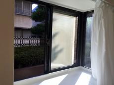 ライオンズマンション八幡山 リビングダイニングキッチン出窓