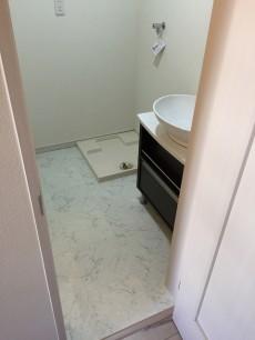 柿の木坂パレス 洗面室&バスルーム
