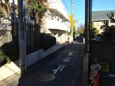 サンハイツ永福町 前面道路