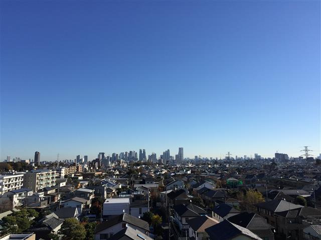 サンハイツ永福町 眺望