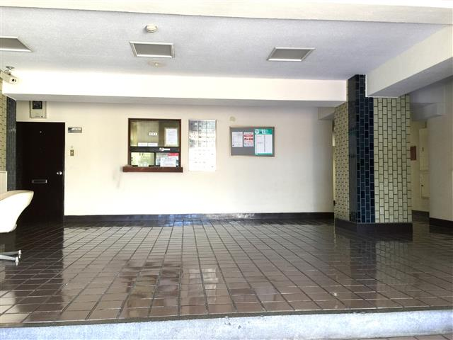 サンハイツ永福町 エントランスホール