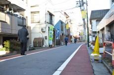大井町ハイツ 前面道路