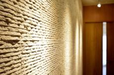日興パレス南麻布第 玄関石貼り