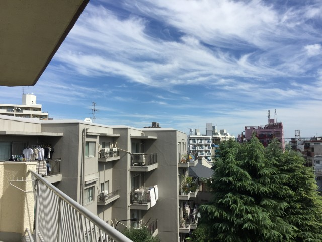 赤堤スカイマンション 眺望