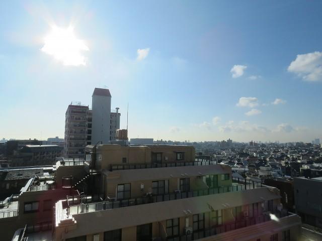 柿の木坂パレス 眺望