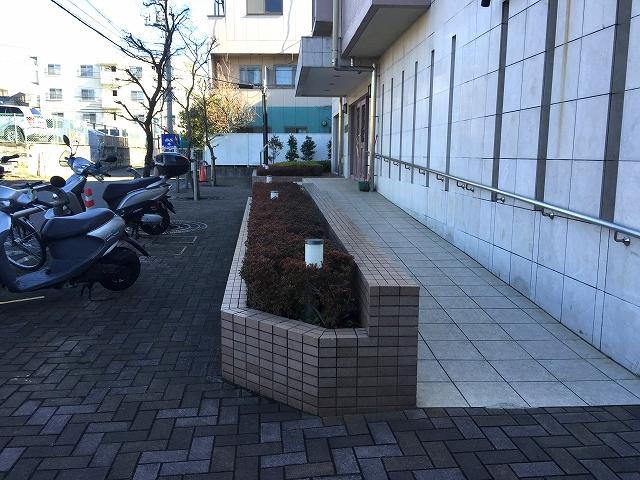 ハイホーム砧公園 エントランス