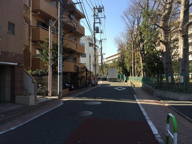 ダイアパレス目黒本町 前面道路