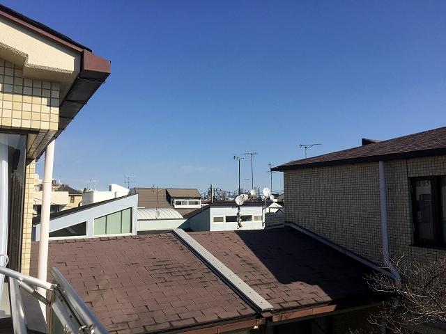 ハウス南経堂 バルコニー眺望