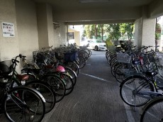 赤堤スカイマンション 駐輪場