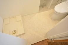 上馬フラワーホーム トイレと洗濯機置場