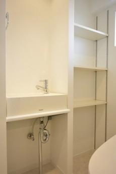上馬フラワーホーム 手洗い場と収納