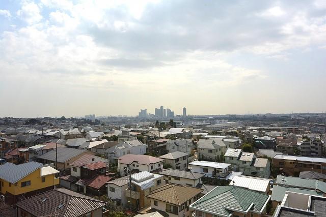 自由ヶ丘フラワーマンション バルコニーからの眺望