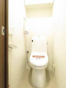 キクエイパレス上野毛 ウォシュレット付きトイレ